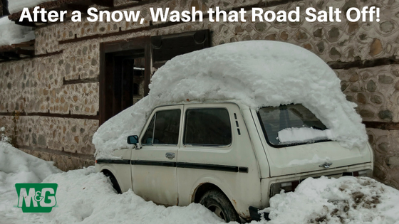 After a Snow, Wash that Road Salt Off!