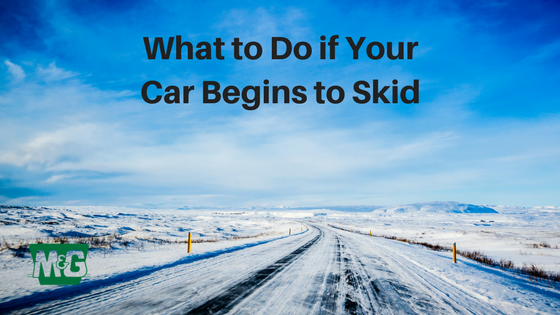 What to Do if Your Car Begins to Skid