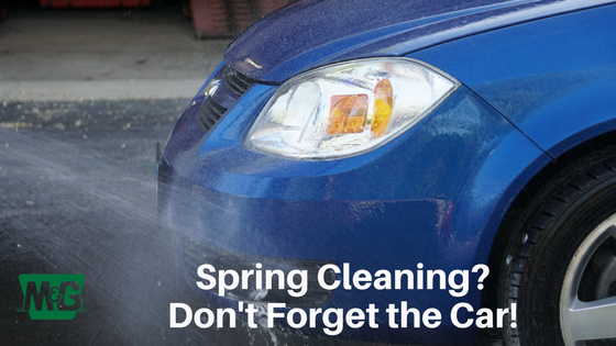 Spring Cleaning? Don't Forget The Car!