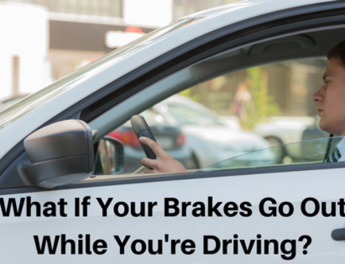 What If Your Brakes Go Out While You're Driving?