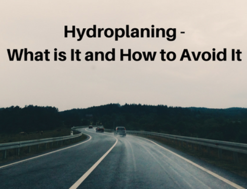 Hydroplaning –  What is It and How to Avoid It
